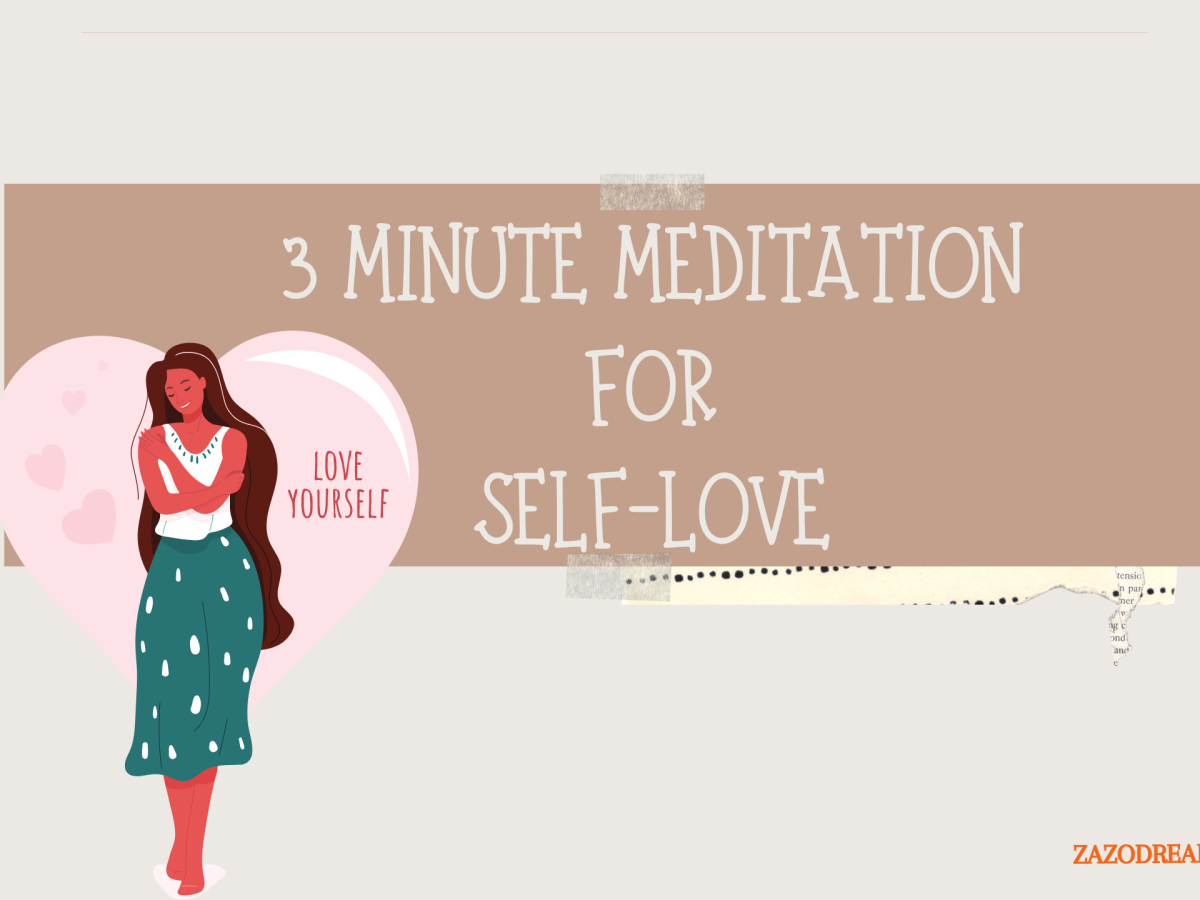 A Short Three Minute Meditation to focus on self-love